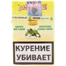 Табак Al Fakher 50 г Жевательная резинка с мятой ЖЕЛТАЯ ПАЧКА (Аль факер)