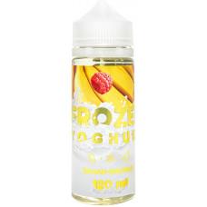 Жидкость Frozen Yoghurt 120 мл Банан Малина 3 мг/мл