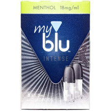 Картридж My Blu Menthol 18 мг/мл 2 шт Von Erl