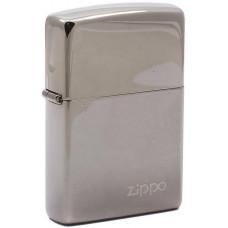 Зажигалка Zippo 150 Classic Black Ice Бензиновая