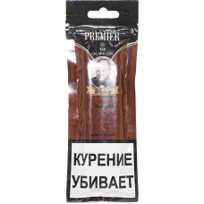 Сигариллы Premier Wood tip Whisky (Виски) с мундштуком пакет 3 шт