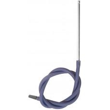 Шланг MYA SILICONE Металл  трубка Синий L=120 см H667 SF