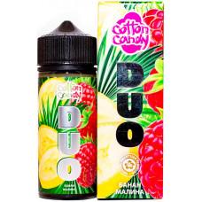 Жидкость Cotton Candy 120 мл DUO Банан Малина 0 мг/мл