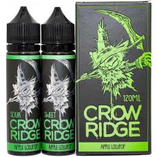 Жидкость Crow Ridge 2*60 мл Apple Lollipop: Sour Sweet 0 мг/мл