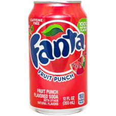 Напиток Fanta Фруктовый пунш 355 мл