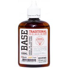 Основа ElMerck Traditional 100 мл  VG/PG 35/55/10  1.5 мг/мл