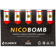 Никобустер Nicobomb 1 мл 183мг/мл 5 шт ElMerck