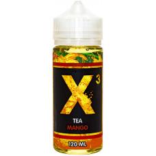 Жидкость X-3 Tea 120 мл Mango 3 мг/мл