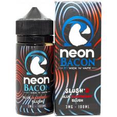 Жидкость Neon Bacon 100 мл Blue Raspberry Slush 3 мг