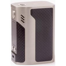 Мод Reuleaux RX300 Carbon 300W TC Серебро + Черный карбон Без Аккумулятора (Батарейный мод Wismec)