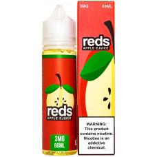 Жидкость 7 Daze Reds 60 мл Apple 3мг/мл