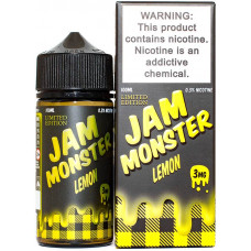 Жидкость Jam Monster 100 мл Lemon 3 мг/мл