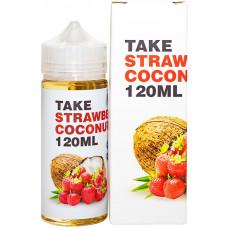 Жидкость Take 120 мл белая Strawberry Coconut 3 мг/мл (с коробкой)