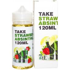 Жидкость Take 120 мл белая Strawberry Absinthe 3 мг/мл (с коробкой)