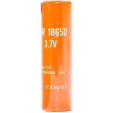 Аккумулятор 18650 Basen 2700 mAh 35A незащищенный