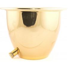 Чаша для льда золотая (Ледница для охлаждения)