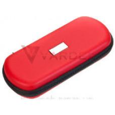Кожаная сумка на молнии для eGo XL красный