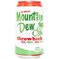 Напиток Mtn Dew Throwback Натуральный Сахар 355 мл