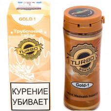 Табак трубочный TURBO DOKHA Gold Крепость N1 12 гр (банка) ОАЭ