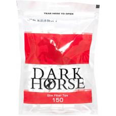 Фильтры для самокруток Dark Horse Slim 6 мм 150 шт
