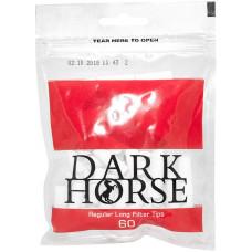 Фильтры для самокруток Dark Horse Regular Long 8 мм 60 шт