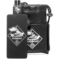 Набор МехМод Tugboat Черный + Дрипка 18650*2