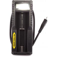 Зарядное устройство Nitecore UM10 Intellicharger 5V 1x (универсальное для всех аккумуляторов)