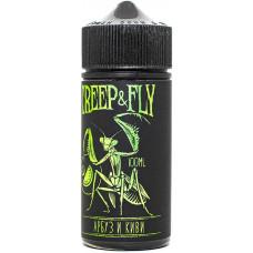 Жидкость Creep n Fly 100 мл Арбуз Киви 6 мг/мл