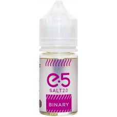 Жидкость E5 Salt 30 мл Binary 24 мг/мл