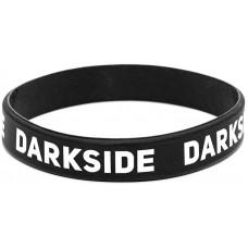 Силиконовый браслет DarkSide узкий черный