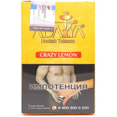 Табак Adalya 35 г  Crazy Lemon