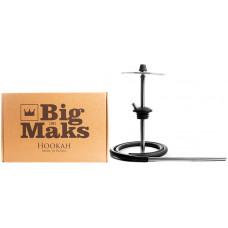 Кальян Big Maks Mini Rapier h=31.5 см Черный без чаши и колбы