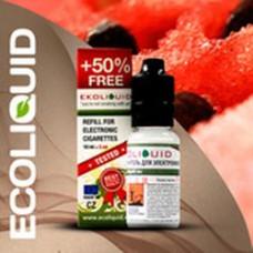 Жидкость EcoLiquid 15 мл Арбуз 18 мг/мл