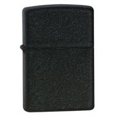 Зажигалка Zippo 236 Classic Black Crackle Бензиновая