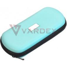Кожаная сумка на молнии для eGo XL синий