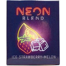 Смесь Neon Blend 50 г Ледяная Клубника Дыня (Ice Strawberry Melon) (кальянная без табака)