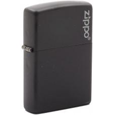 Зажигалка Zippo 218ZL Black Matte Бензиновая
