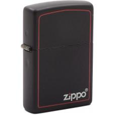 Зажигалка Zippo 218ZB Classic Black Matte Бензиновая