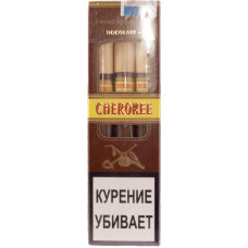 Сигариллы CHEROKEE Chocolate N5 (Шоколад) пакет 3 шт