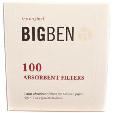 Фильтры д/трубки Big Ben Original 9 мм 100шт