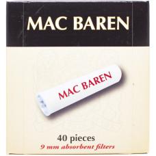 Фильтры д/трубки Mac Baren 9 мм 40шт