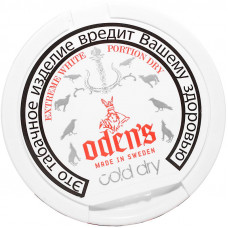 Жевательный Odens Extreme Dry Cold White 13гр