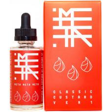Жидкость Meta 50 мл Classic Custard 0 мг/мл комплект 2в1
