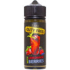 Жидкость Duty Free Fresh 120 мл Lemonade Berries 3 мг/мл