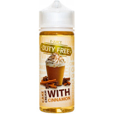 Жидкость Duty Free Fresh 120 мл Cinnamon Cake Cream 3 мг/мл