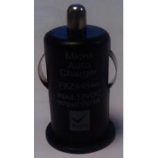 Автомобильный USB адаптер 1000 mA черный (в прикуриватель) (iPhone 4s)