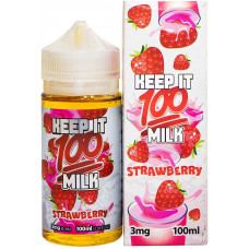 Жидкость Keep it 100 мл Strawberry 3 мг/мл