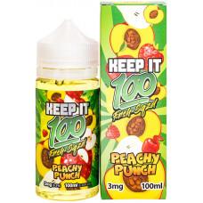 Жидкость Keep it 100 мл Peachy Punch 3 мг/мл
