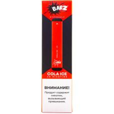 Вейп Barz Disposable Cola Ice 20 мг 280 mAh Одноразовый