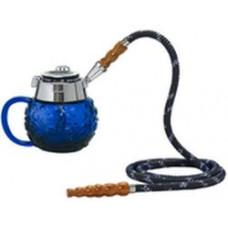 Кальян MYA Coppa Колба синее стекло 589141C h=14 см